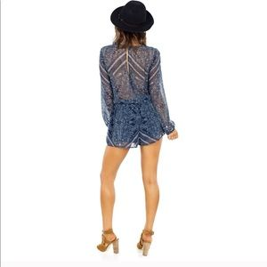 The Jetset Diaries Shorts - The Jetset Diaries Moroccan Tile Romper A11